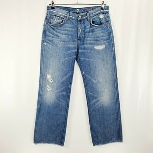 7 For all Mankind Destroyed Relaxed F1112